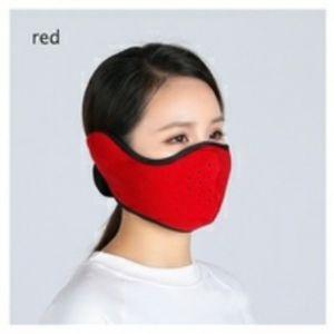 Facemask fleece reversible